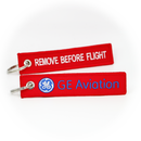 Keyring GE General Electric GE Aviation / Remove Before Flight