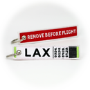 Keyring LAX Airport / Remove Before Flight