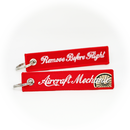 Keyring Aircraft Mechanic / Remove Before Flight