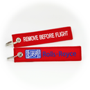 Keyring Rolls Royce Engines RR / Remove Before Flight