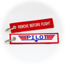 Keyring Top Gun Pilot / Remove Before Flight