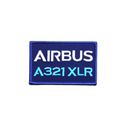 Patch Airbus A321 XLR blue/rectangle