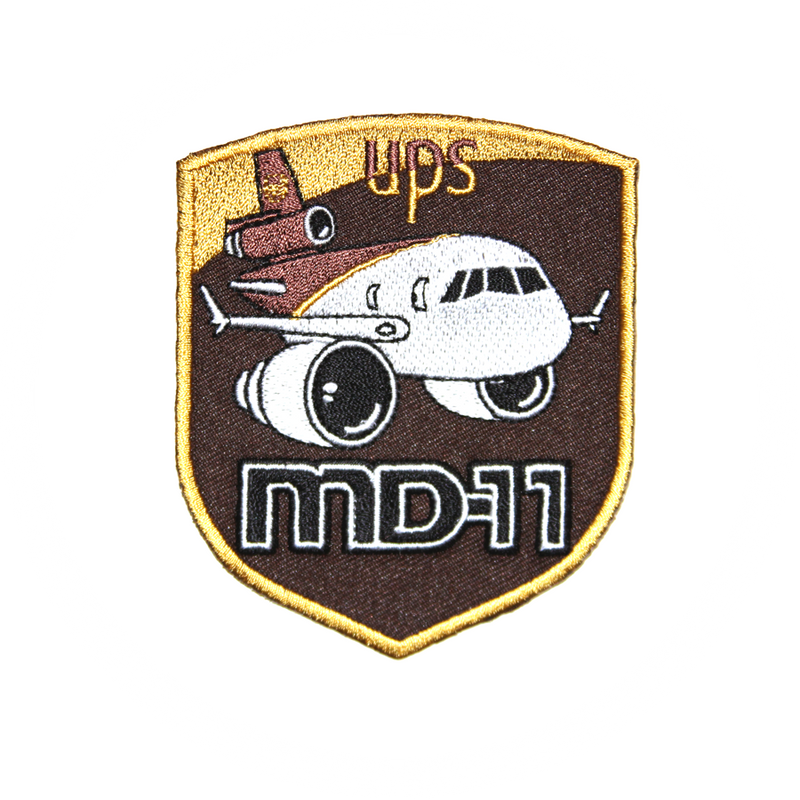Patch UPS AIRLINES MD11 McDonnell Douglas MD-11