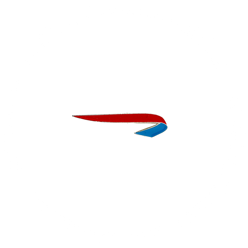 Pin British Airways Ribbon red/blue color