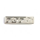 Pin Boeing 767 (rectangle with airplane silhouette)