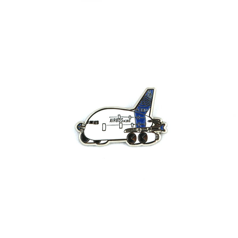 "Pin Airbus A380 ""chubby"""