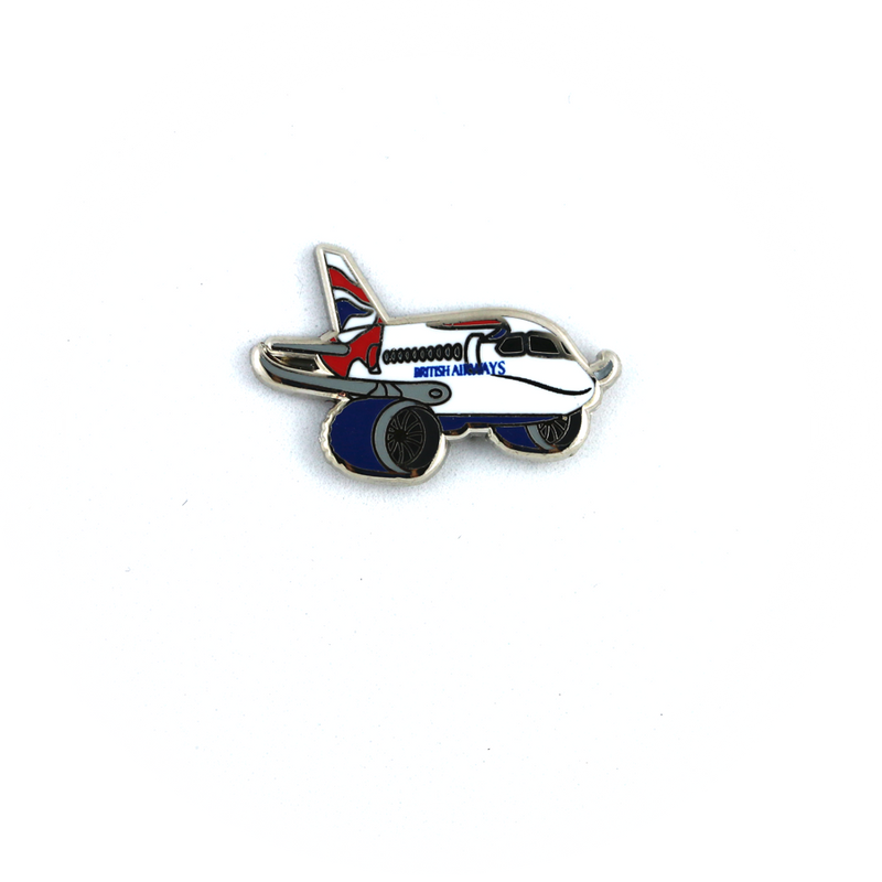 "Pin Boeing 787 Dreamliner British Airways ""chubby"""