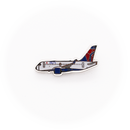 "Pin Delta Air Lines Airbus A220 ""chubby"""