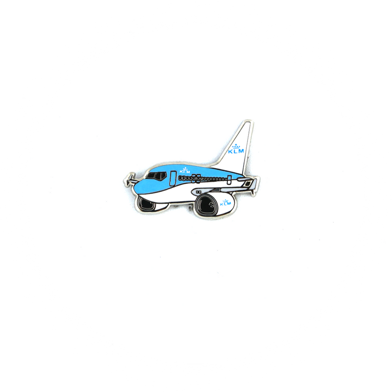"Pin KLM Boeing 737 ""chubby"""