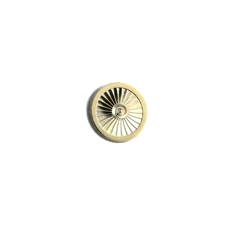 Pin Jet Engine Fan 1. Stage (golden tone)