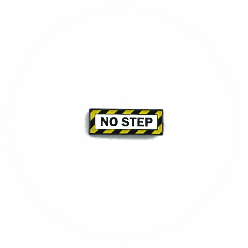 "Pin Aircraft ""No Step"""