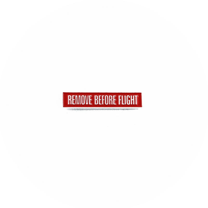 Pin Remove Before Flight