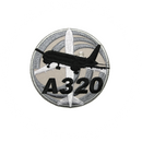 Patch Airbus A320 (round)