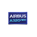 Patch Airbus A320 NEO blue/rectangle