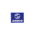 Patch Airbus blue/ rectangle