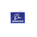 Patch Boeing blue/ rectangle