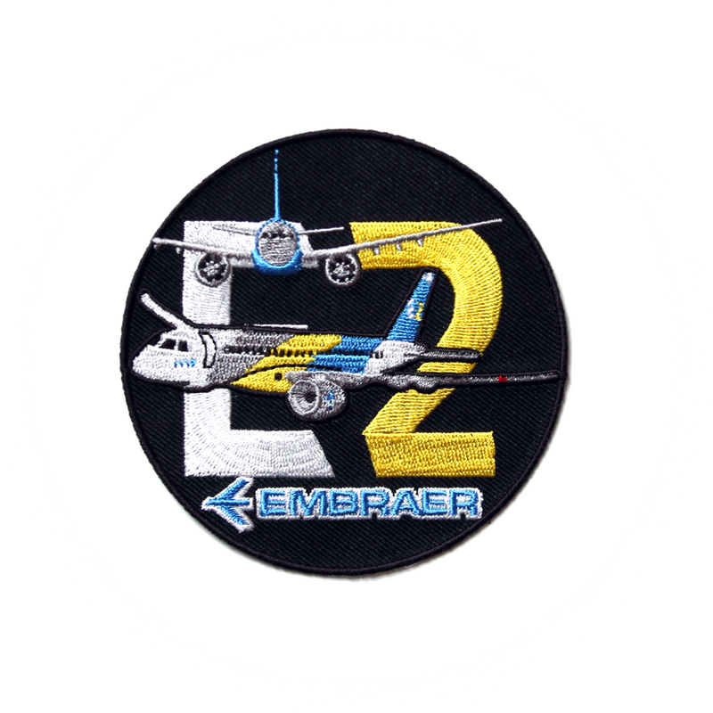 Patch Embraer E2 (round)