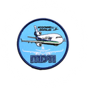 Patch McDonnell Douglas MD-11 (round)