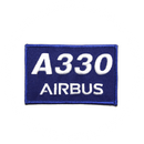 Patch Airbus A330 blue/rectangle