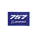Patch Boeing 757 blue/rectangle