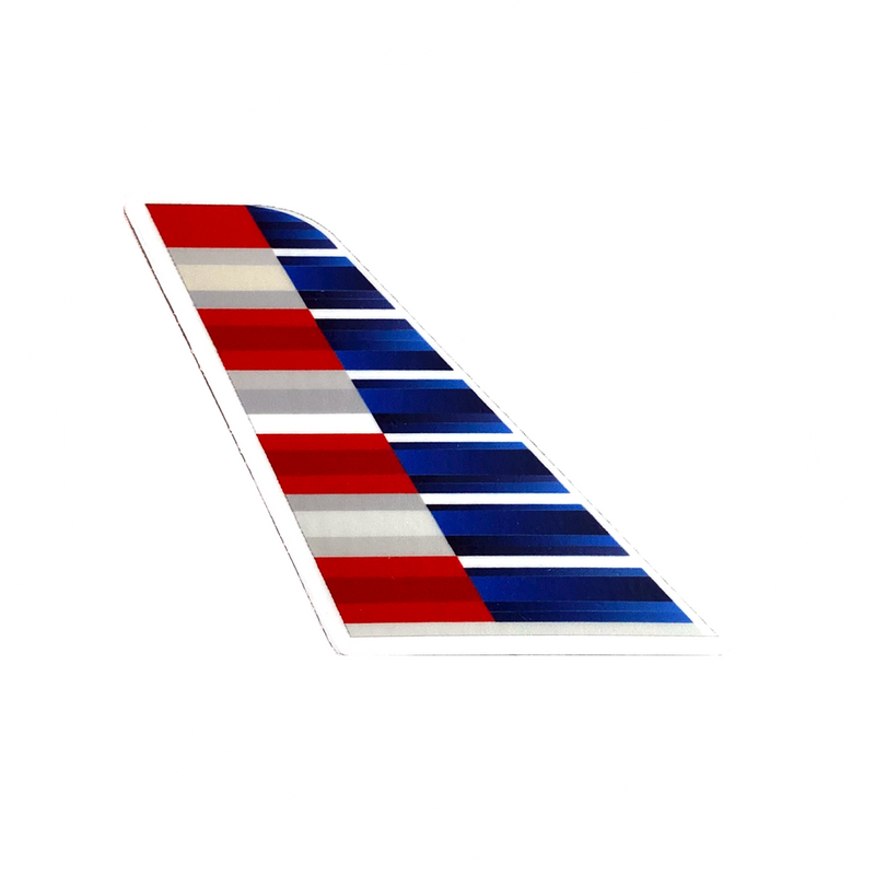 Sticker American Airlines Tail (Boeing 787)