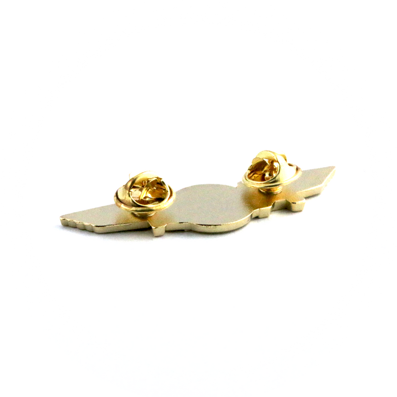Wing Pin Airbus A321 Gold