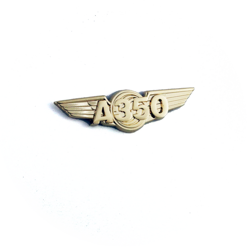 Wing Pin Airbus A350 Gold