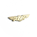 Wing Pin Boeing 787 gold