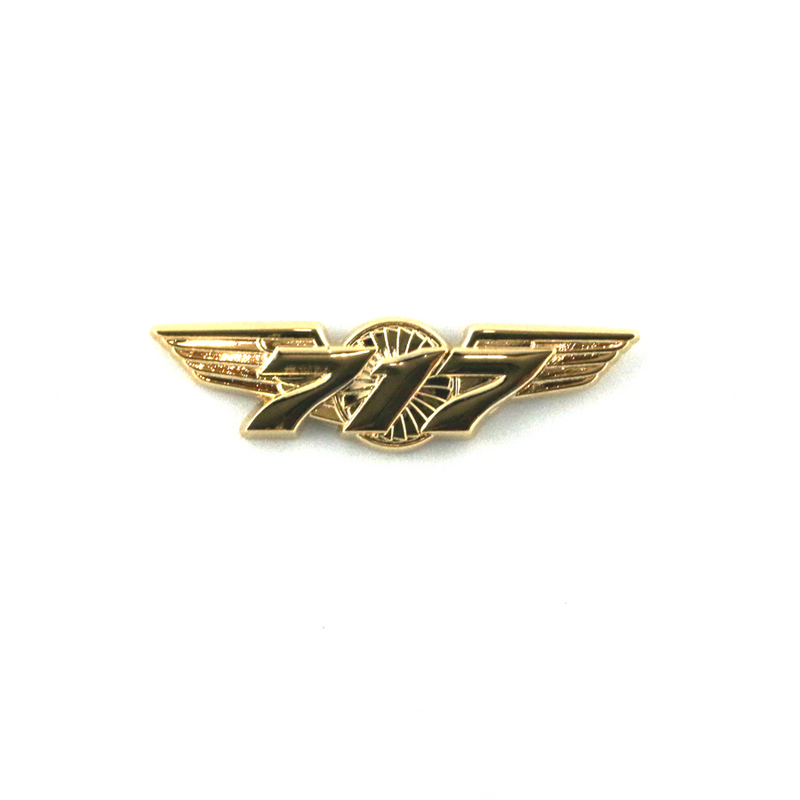 Wing Pin Boeing 717 Gold