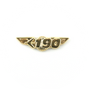 Wing Pin Embraer 190 E190 Gold