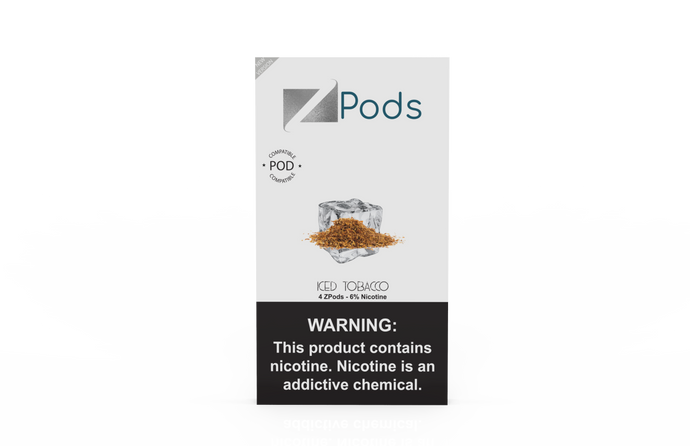 ZPods ICED TOBACCO available now.