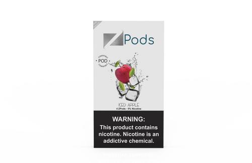 ZiiP Pods compatible to JUUL with nic salt - Iced Apple - ZiiP Lab Oceania ZLab