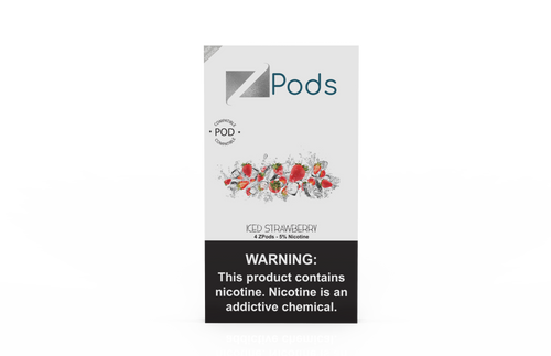 ZiiP Pods compatible to JUUL with nic salt - Iced Strawberry - ZiiP Lab Oceania ZLab