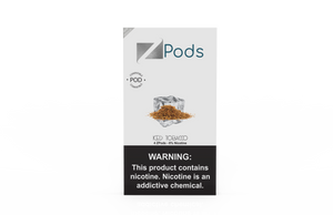 ZiiP Pods compatible to JUUL with nic salt - Iced Tobacco - ZiiP Lab Oceania