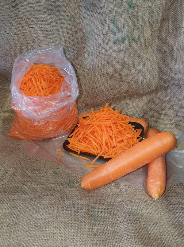 GRATED CARROT (1KG BAG)