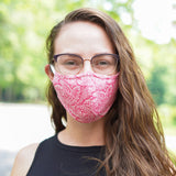 Paisley/ Dot Reversible Mask