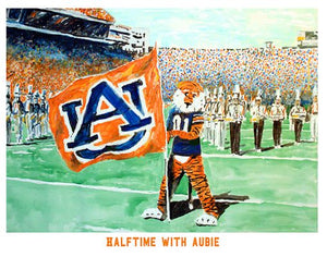 Halftime with Aubie!