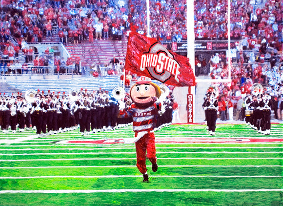 Brutus Leads the Band!