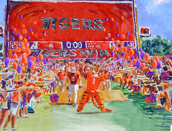 The Tiger Walk