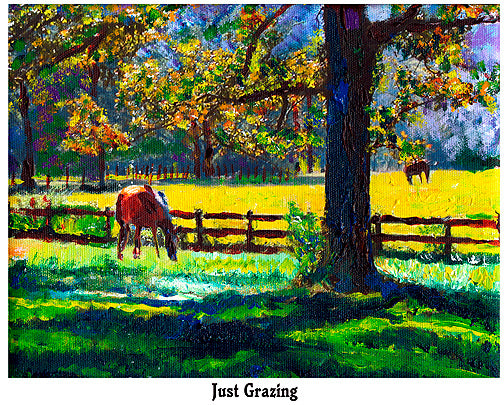 Just Grazing