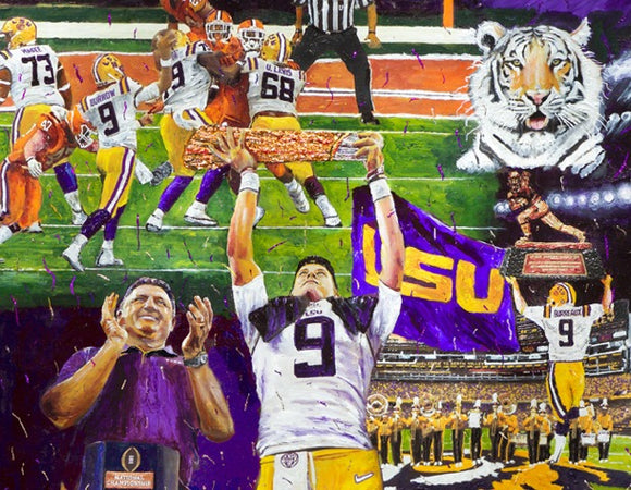 LSU Championship Collage