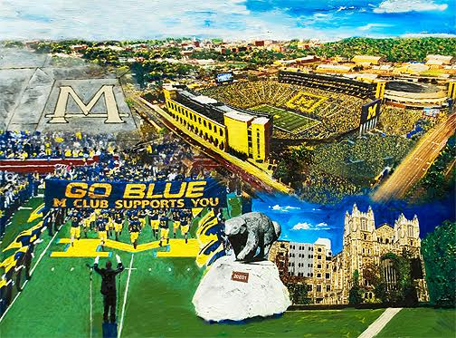 Michigan Collage
