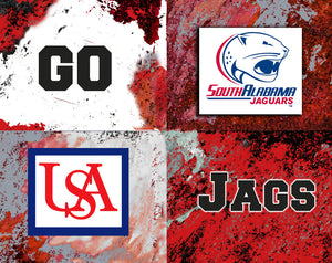 South Alabama Logos