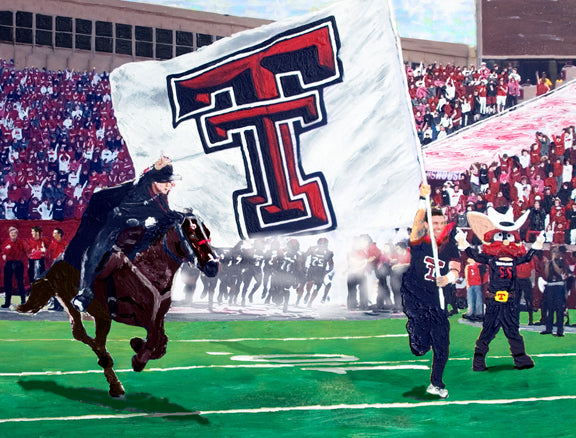 Texas Tech - The Masked Rider