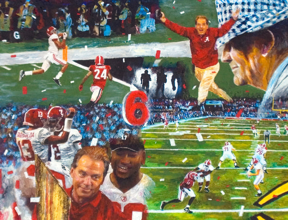 2018 Alabama Championship Collage