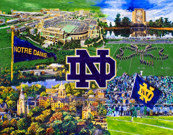 Notre Dame Collage