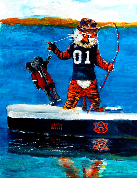Look What the Auburn Tiger Dragged in!