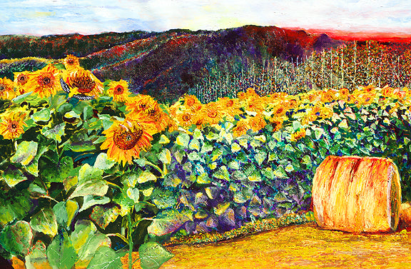 Appalachian Sunflowers