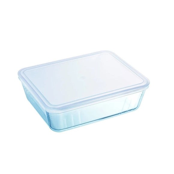 PLAT RECTANGULAIRE COOK/FREE TRANSPARENT 2.6L