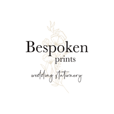Bespoken Prints Wedding Stationery